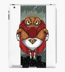 Foodietoon Superhero Donut / NYC Rain iPad Case/Skin