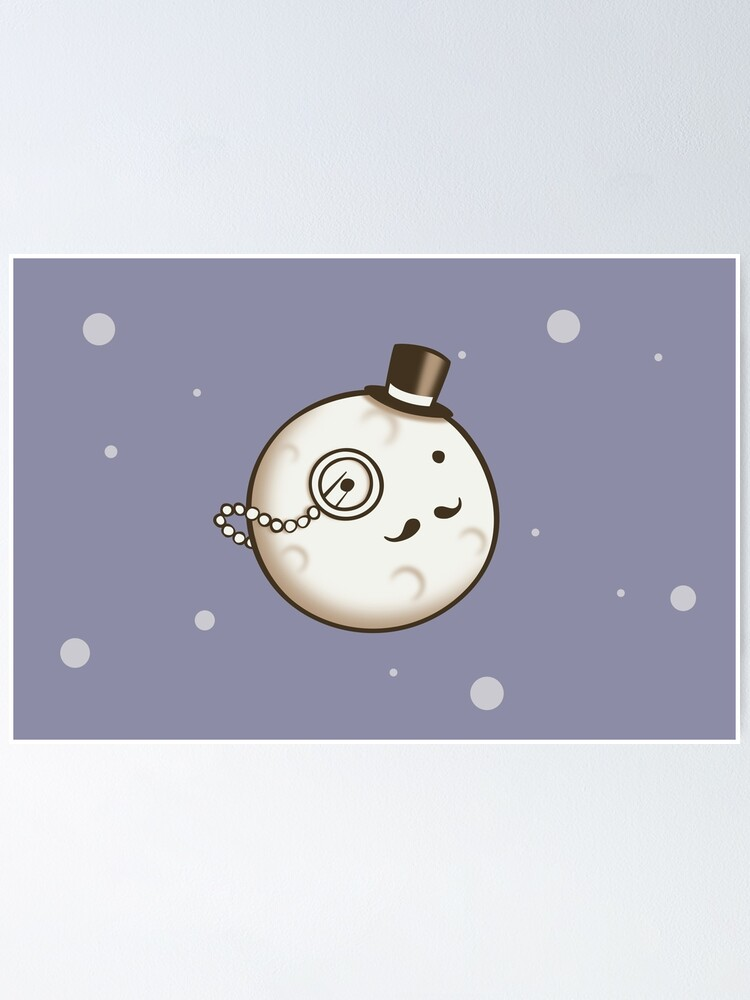 Alternate view of Dapper Moon Poster