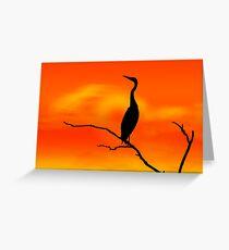 Sunset Sonata Greeting Card