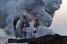 Kilauea Volcano at Kalapana 10 by Alex Preiss