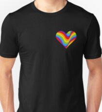 RAINBOW and wavy T-Shirt