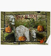 Trick or Treat on Spooky Halloween! Poster