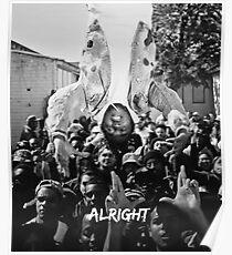 Kendrick Lamar - Alright (Music Video) Poster