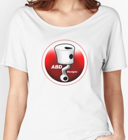 ABD vintage race bike logo - Red Women's Relaxed Fit T-Shirt
