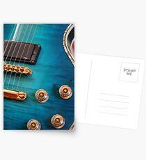 Guitar Blues   Postcards