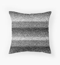 Haunted TV Throw Pillow