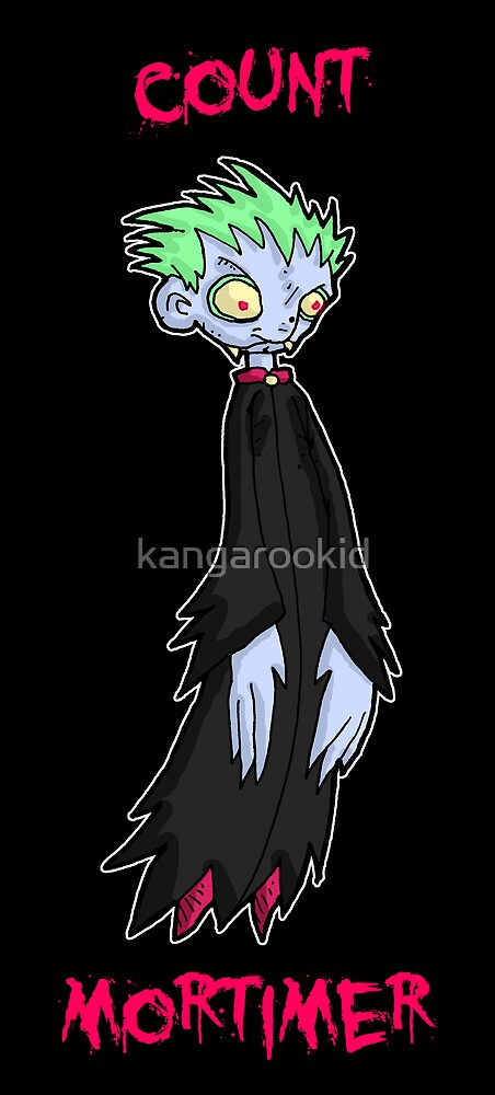 count mortimer by kangarookid