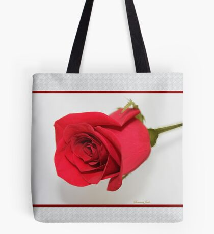 Let Me Call You Sweetheart ~ A Rose Tote Bag