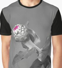 Flower Opening Graphic T-Shirt