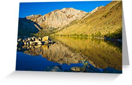 Morning at Convict Lake by Justin Mair