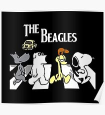 the beagles dog Poster
