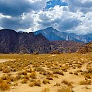 Alabama Hills and the Sierras by Justin Mair