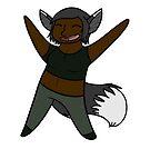 Fox Girl Sticker by C. Jade Wyton
