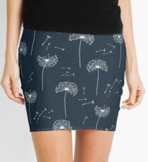 Floral pattern of dandelions Mini Skirt