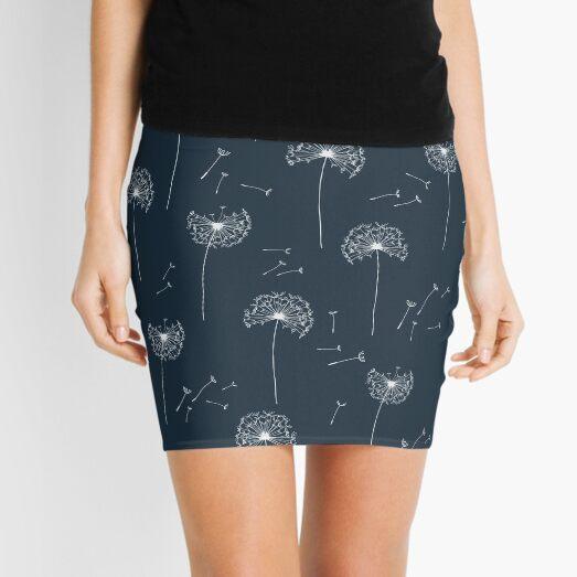Floral pattern of dandelions Mini Skirt