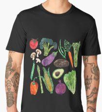 Artistic Vegetables Men's Premium T-Shirt