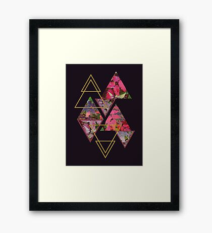 Purple Fall #redbubble #decor #buyart Framed Print