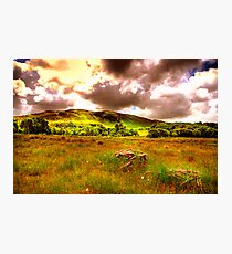 The hills of Donegal  Photographic Print