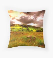 The hills of Donegal  Throw Pillow