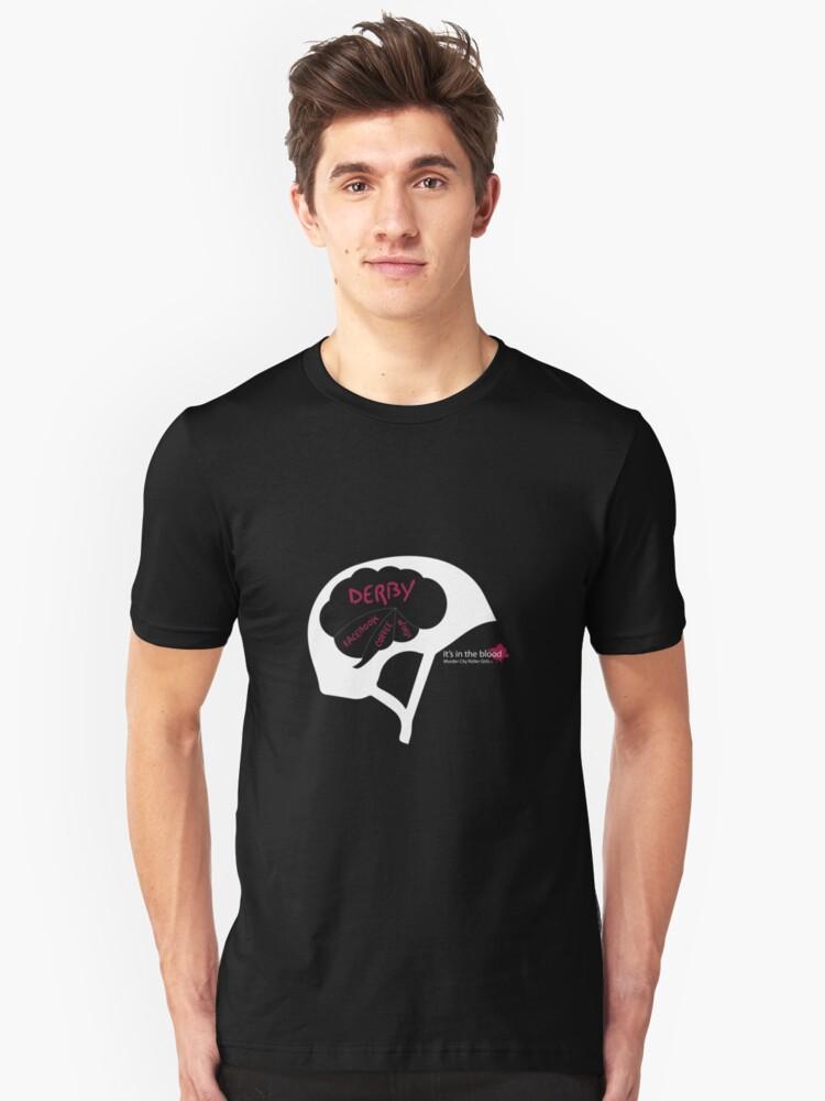 Derby Brain Unisex T-Shirt Front