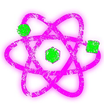 Atomic Dungeons and Dragons D20 - Green and Pink by Fuzzyketchup