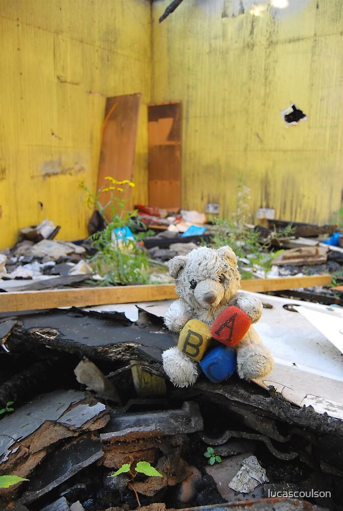 """Desperation Bear"" by lucascoulson"