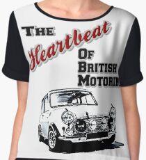 heart beat Women's Chiffon Top