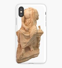 The Statue of The Unidentified Philosopher iPhone Case/Skin