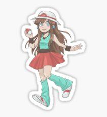 Blue the Pokemon trainer Sticker