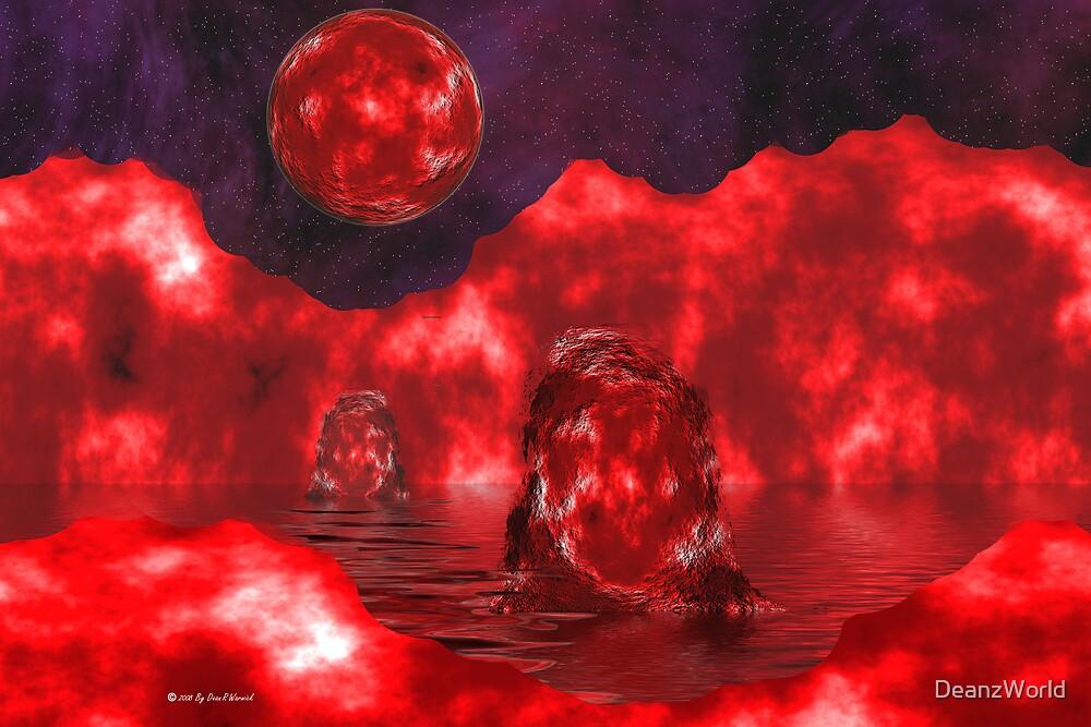 Molten Planet by DeanzWorld