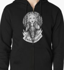 I am that very witch Zipped Hoodie