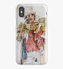 Dickensian Puppeteer Punch and Judy iPhone Case/Skin