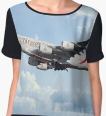 Emirates A380-800 A6-EER Chiffon Top