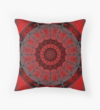 Spider Design (Iktomi) Throw Pillow