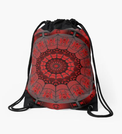 Spider Design (Iktomi) Drawstring Bag