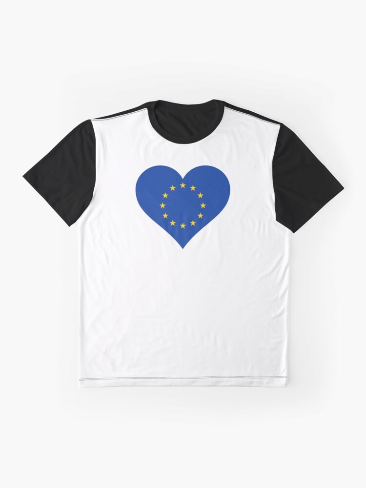 Alternate view of Europe Graphic T-Shirt