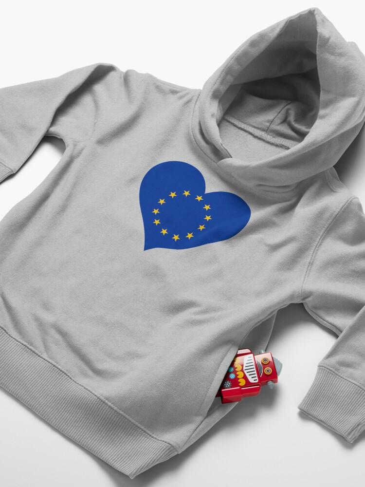 Alternate view of Europe Toddler Pullover Hoodie