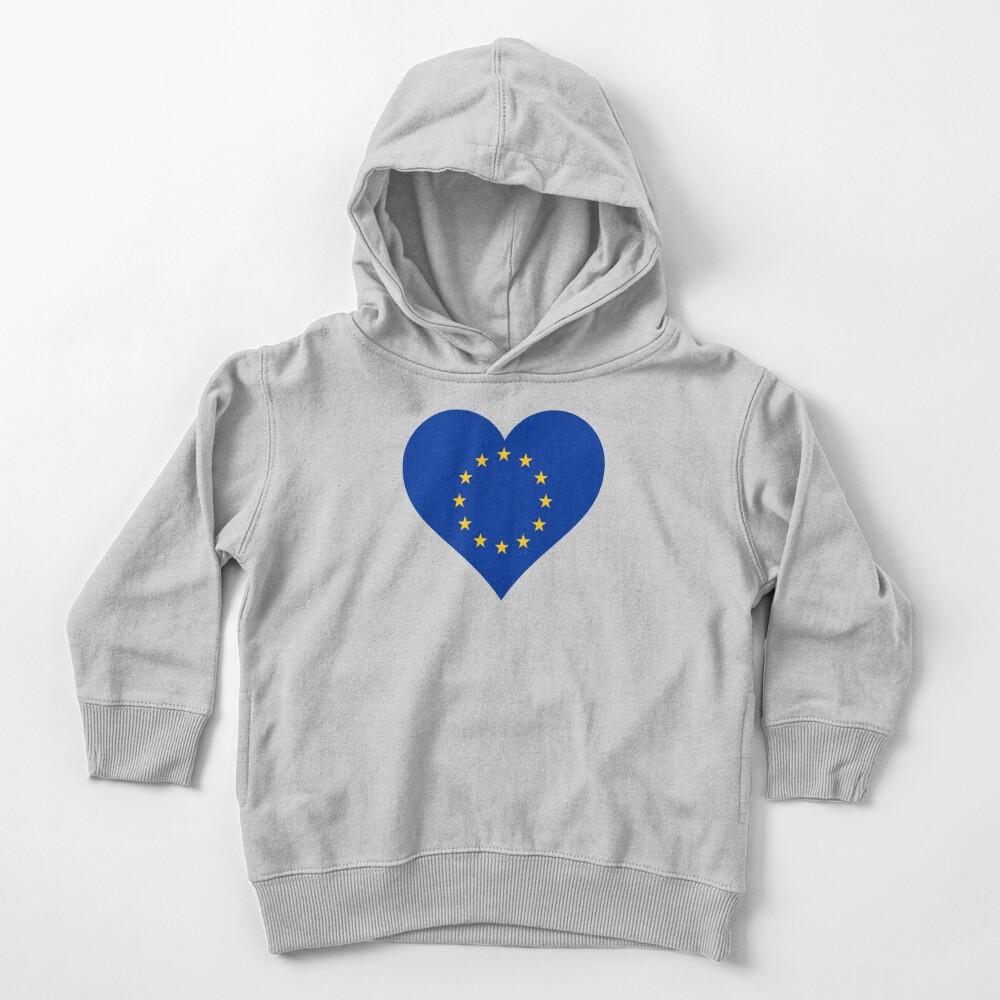 Europe Toddler Pullover Hoodie