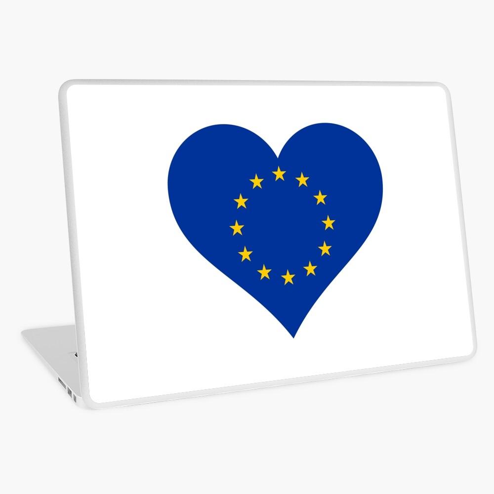 Europe Laptop Skin