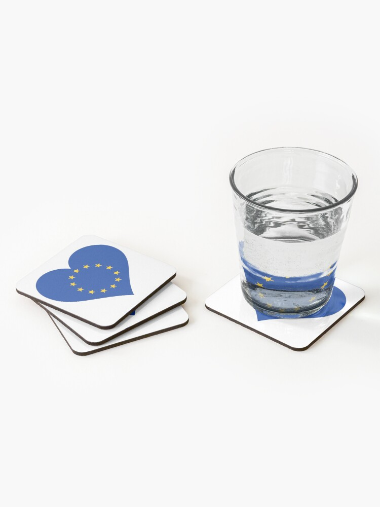Alternate view of Europe Coasters (Set of 4)