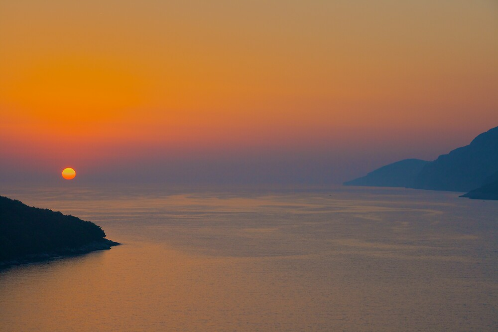 Adriatic Sunset by edesigned