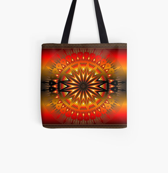 Fire Spirit All Over Print Tote Bag