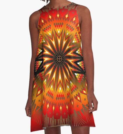 Fire Spirit A-Line Dress