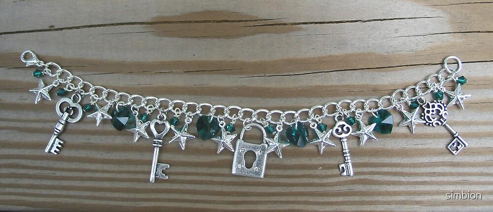 kingdom hearts charm bracelet by simbion