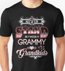 Grammy- Never Stand Between A And Her Grandkids T-Shirt