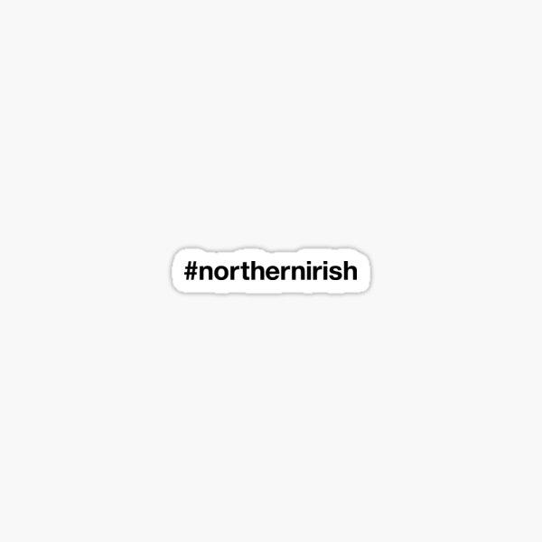 NORTHERN IRELAND Hashtag Sticker