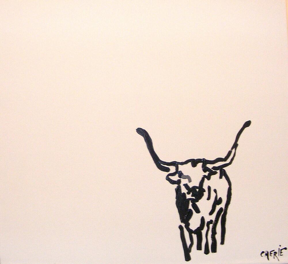 Bull by CherieStrongArt