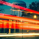 Streaks of Light - Vintage Bentonville Arkansas by Gregory Ballos