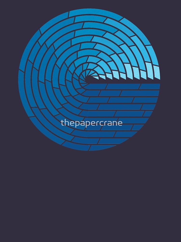 Almighty Ocean by thepapercrane