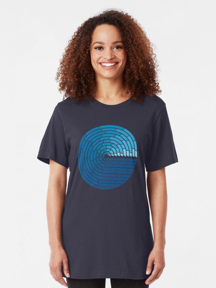 Alternate view of Almighty Ocean Slim Fit T-Shirt